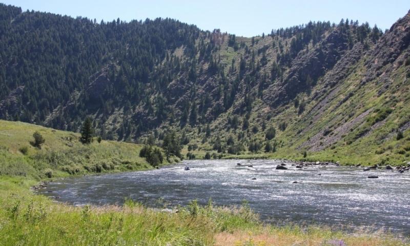 Montana Bear Trap Canyon