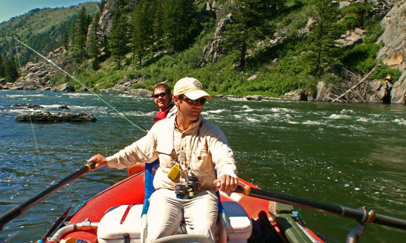 Fishing the Madison River in Bear Trap Canyon