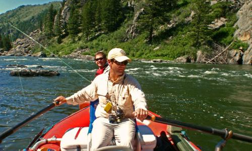 Madison River Fishing Bear Trap Canyon