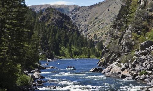 Beartrap Canyon Rafting