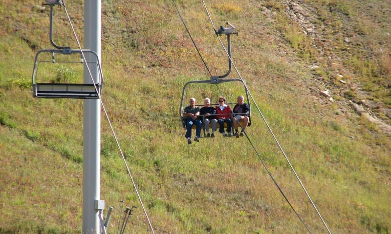 Scenic Chairlift at Big Sky