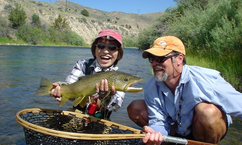 Fishing the Beaverhead River with Fishtales Outfitting