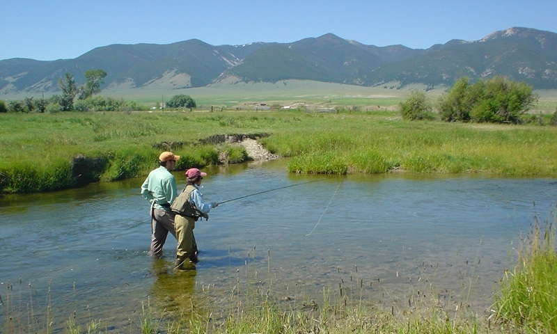 Ruby River Fishing