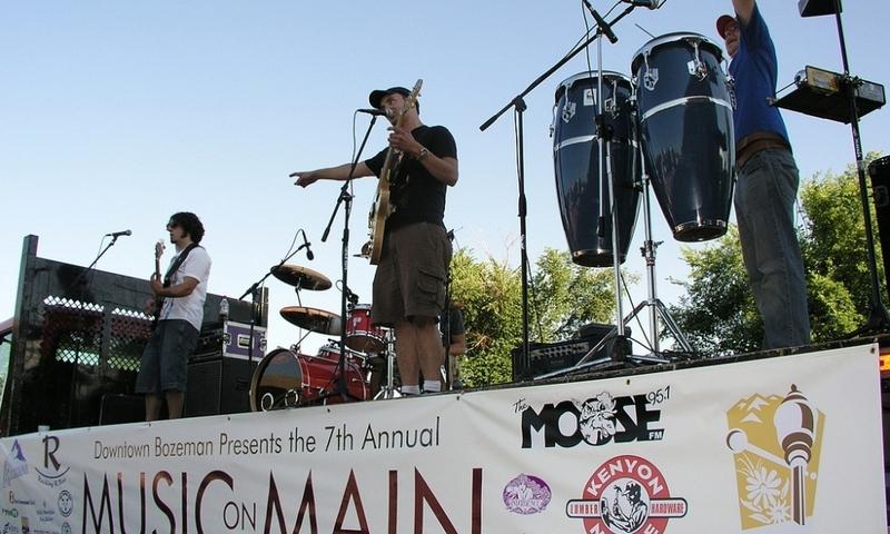 Bozeman Montana Music On Main