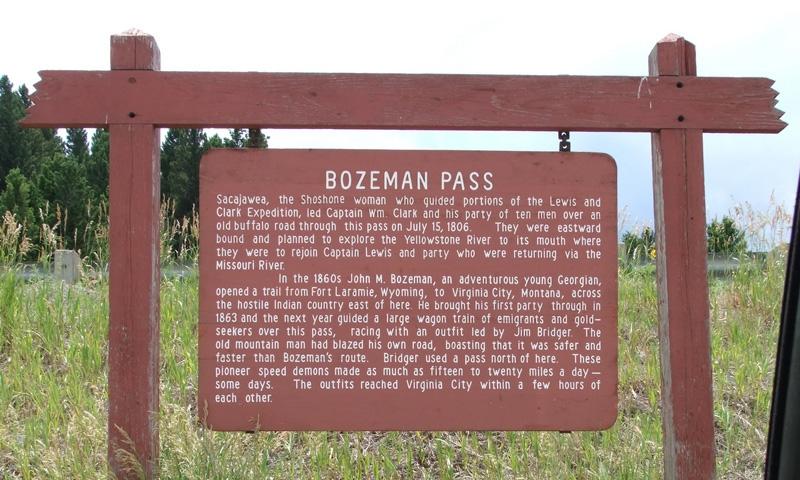 Bozeman Pass Highway