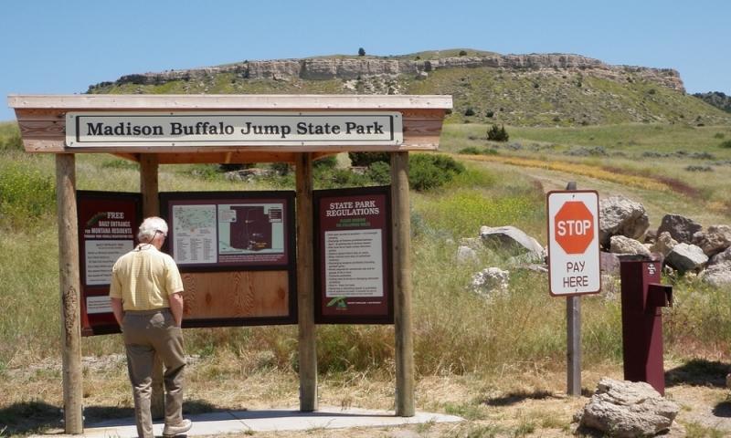 Buffalo Jump State Park Montana