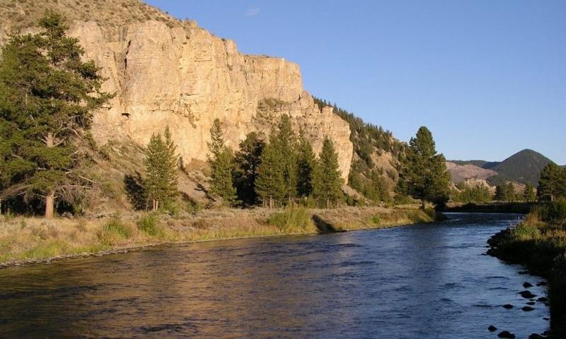 Gallatin River Canyon Big Sky