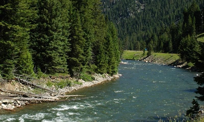Montana Gallatin River Canyon