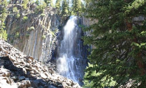 Palisade Falls Hyalite Canyon Montana