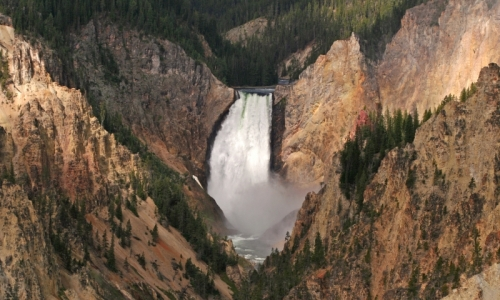 Yellowstone National Park River Canyon