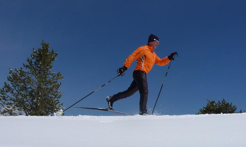Cross country skiing in Bozeman
