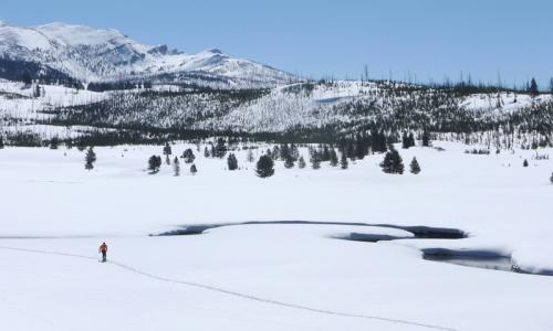 Bozeman Montana Cross Country Ski Trails