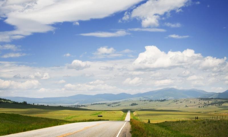Scenic Drive near Bozeman