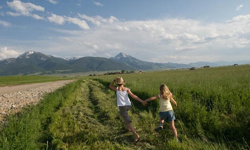 Kids Family Bozeman Montana Summer