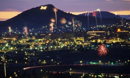 Butte Montana Fireworks