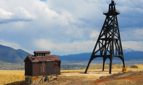 Butte Montana Gallows Mine