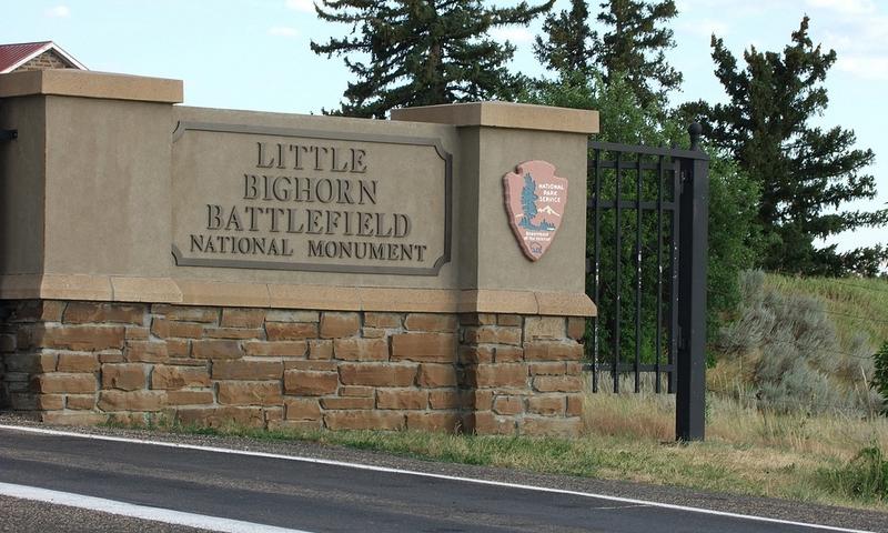 Little Bighorn Battlefield in Montana