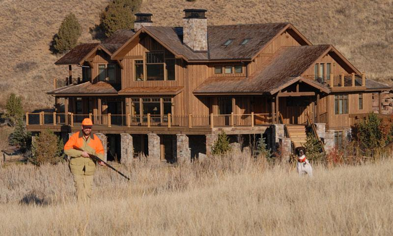 Hunting at Grey Cliffs Ranch in Bozeman Montana
