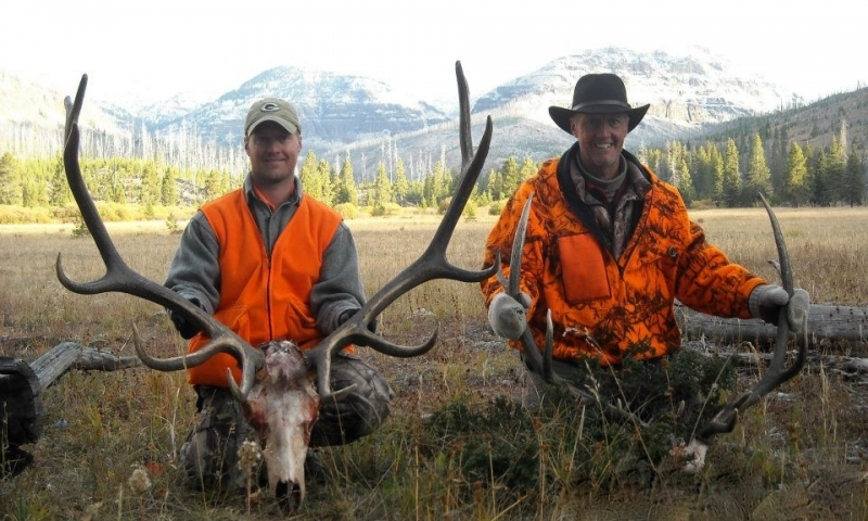 Bozeman montana elk deer hunting trips outfitters for Montana game and fish