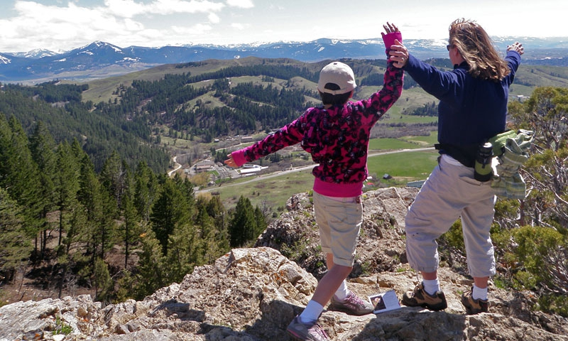 Hike the M Trail in Bozeman