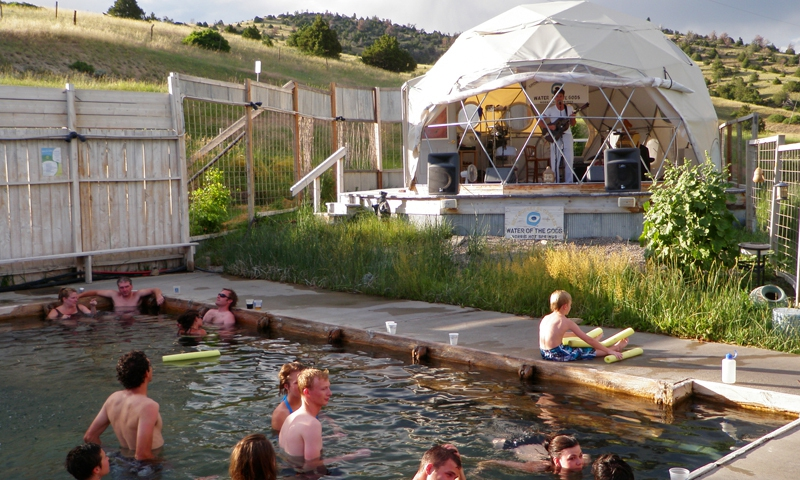 Live Music at Norris Hot Springs