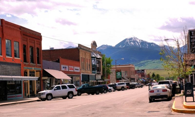 Downtown Livingston Montana