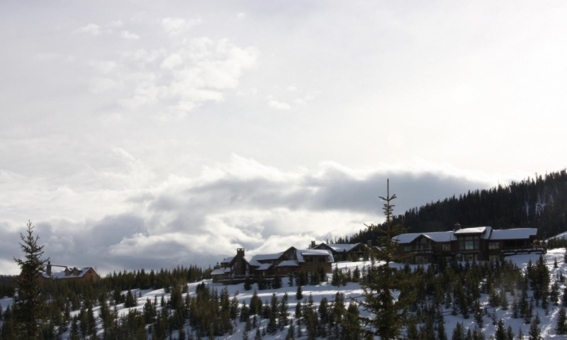 Moonlight Basin Ski Area in Montana