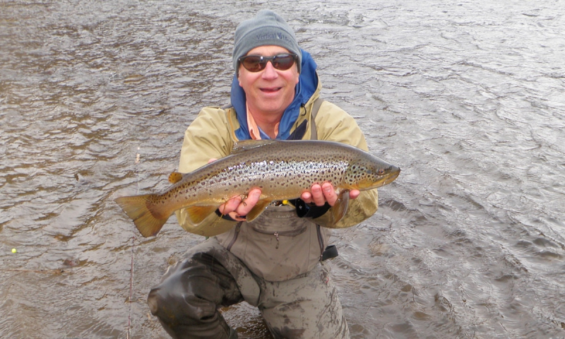 Bozeman Montana Winter Fly Fishing