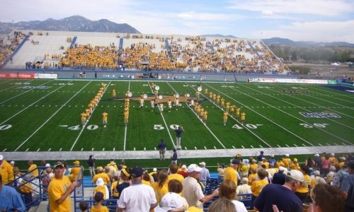 Bozeman Montana Campus Msu Football Bobcats Summer