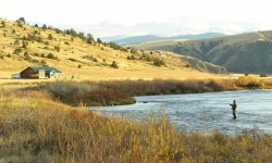 Fishing the Madison River in Montana