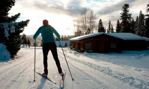 Nordic Skiing at Lone Mountain Ranch