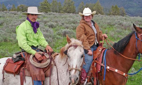 Bozeman Montana Horseback Riding