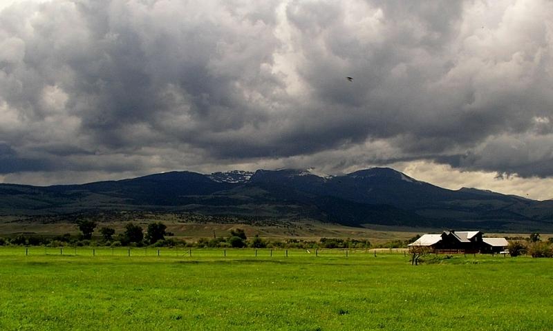 Ennis Montana Tobacco Root Mountains