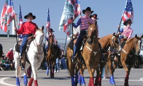 Ennis Montana Parade