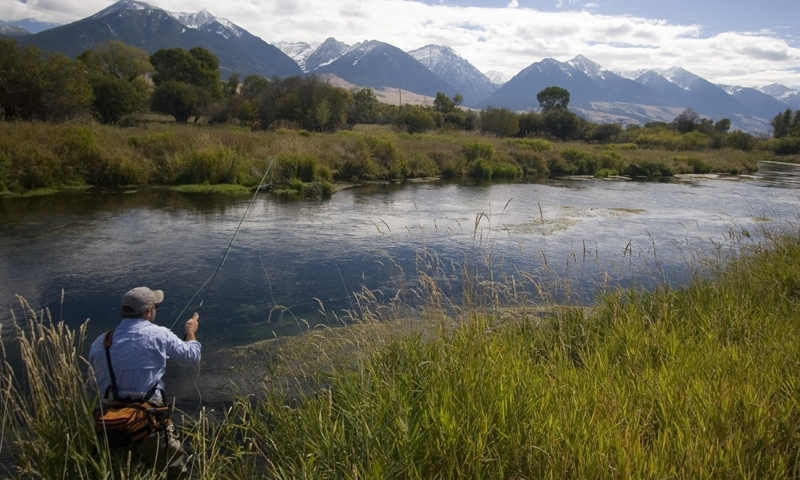 Depuys Creek Montana Fishing
