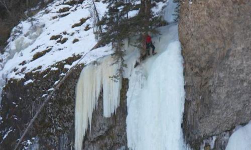 Hyalite Canyon Ice Climbing Montana