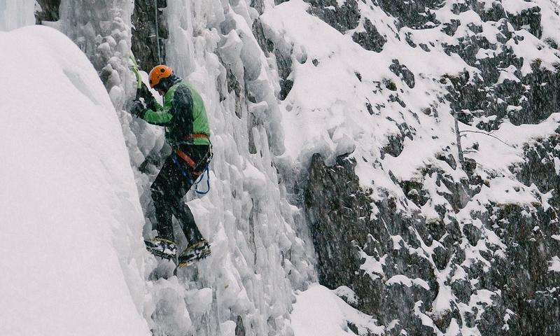 Ice Climbing Bozeman