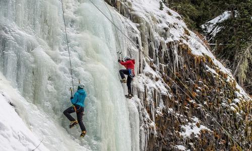 Bozeman Montana Ice Climbing