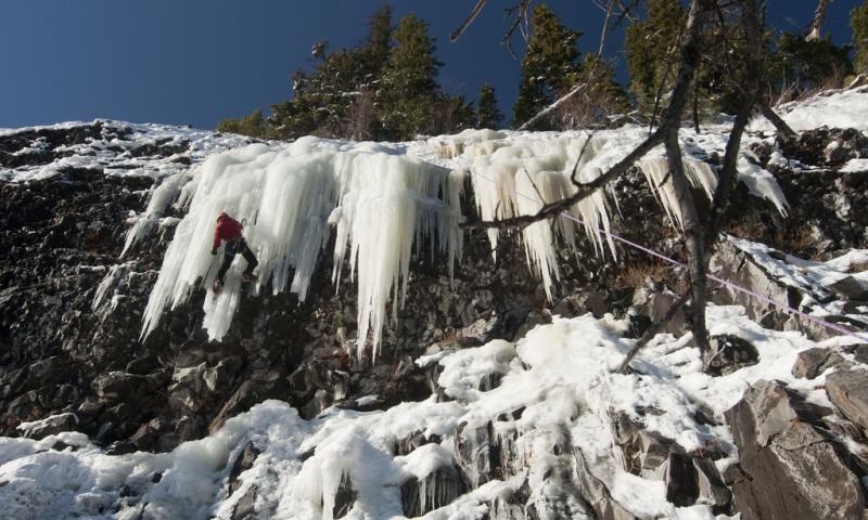 Bozeman MT Ice Climbing
