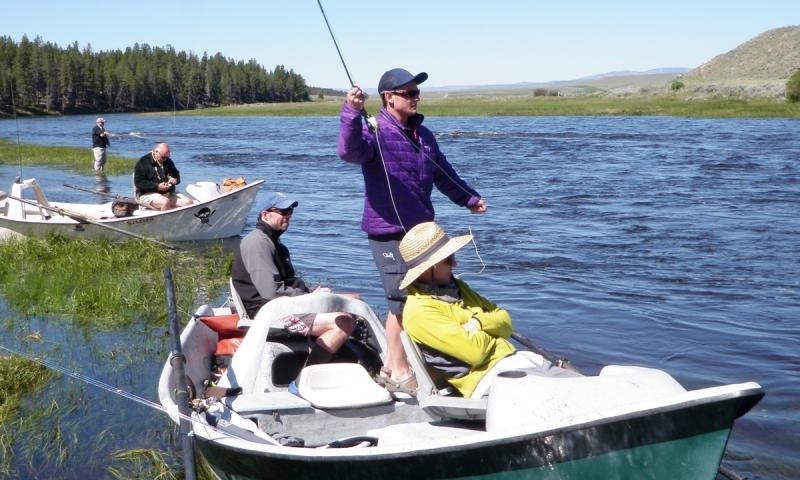 Fishing the Big Hole River