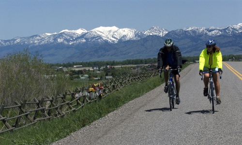 Bozeman Montana Biking