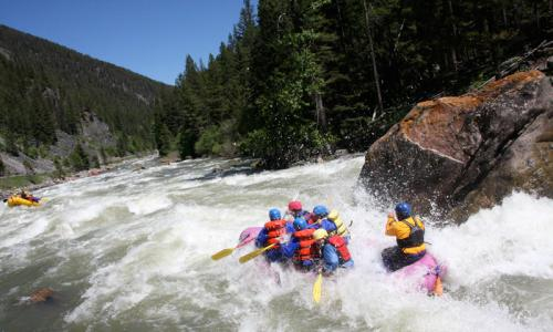 Whitewater Rafting the Gallatin River in Montana