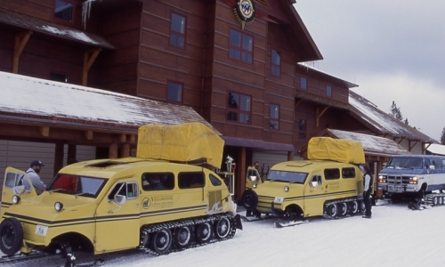 Bozeman Montana Snow Coach Winter Tours Alltrips