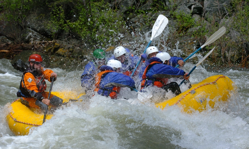 Whitewater Rafting Gallatin River